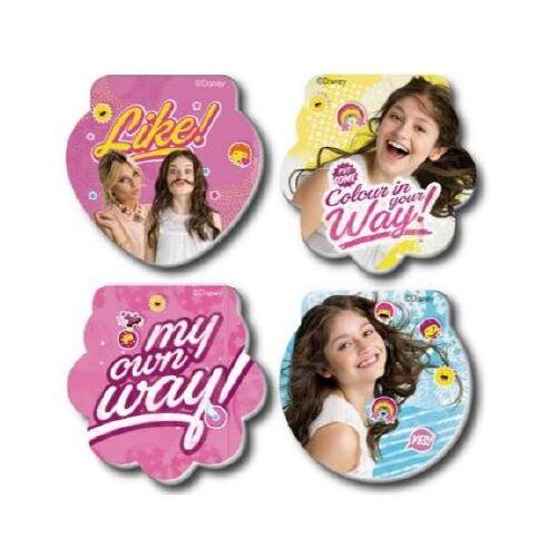 Disney memoblokken Soy Luna 3 blokken - Multicolor