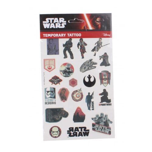 Disney tattoo Star Wars Chewbacca 14,5 x 21 cm - Zwart,Rood