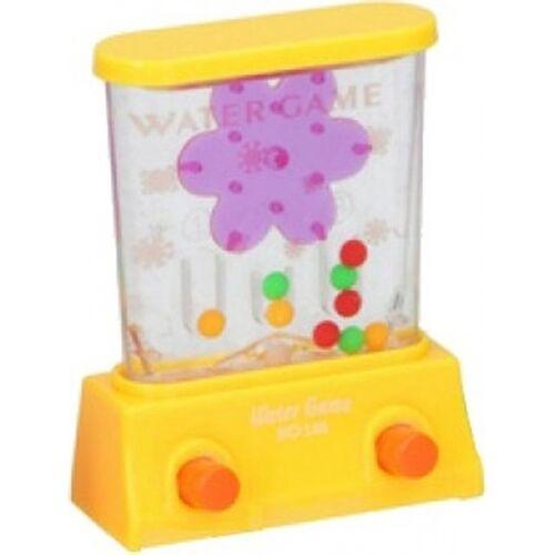 Eddy Toys behendigheidsspel water 8,5 cm geel - Geel