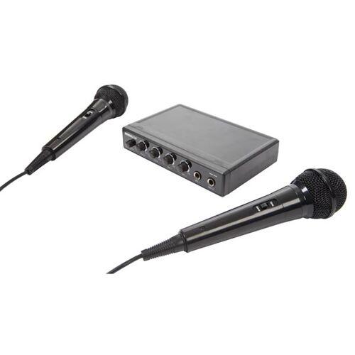 HQ-Power HQ Power karaokeset Plug and play 17 x 11 cm zwart - Zwart