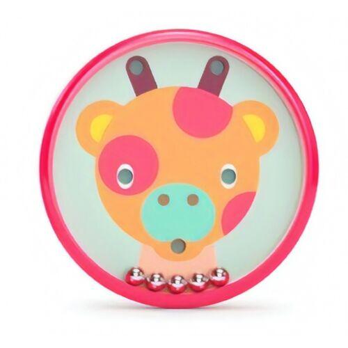 Kid O behendigheidsspel Safari 5 cm rood - Rood
