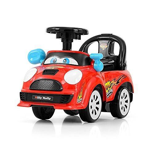 Milly Mally Ride On Joy loopwagen junior rood/zwart S - Rood