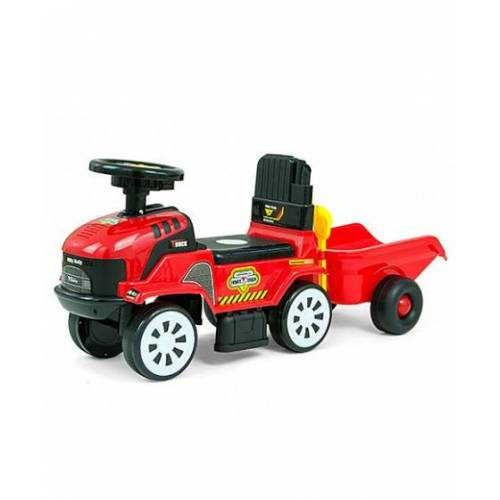 Milly Mally Rolly Plus loopwagen rood - Rood