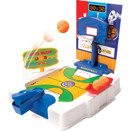 Luna mini basketbalveld junior 24 cm 16 delig - Multicolor