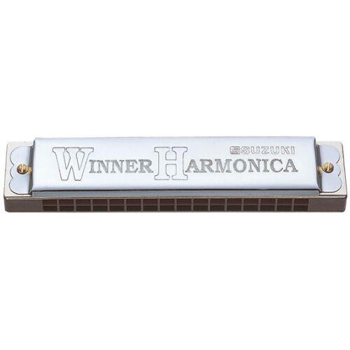 Suzuki mondharmonica tremolo 32 tonen C majeur zilver - Zilver