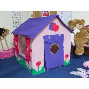 Bazoongi Kids speeltent Poppenhuis 97 x 76 x 112 cm roze/paars - Paars,Roze