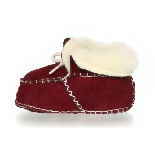 Playshoes babyschoenen schapenvacht bordeaux - Bordeaux