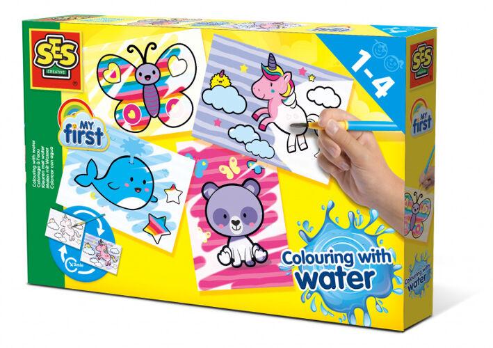 SES Creative kleuren met water f...