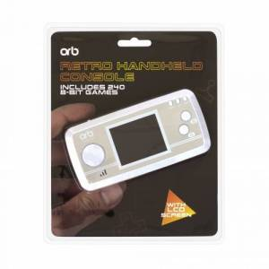 ORB Retro Handheld Console - Wit