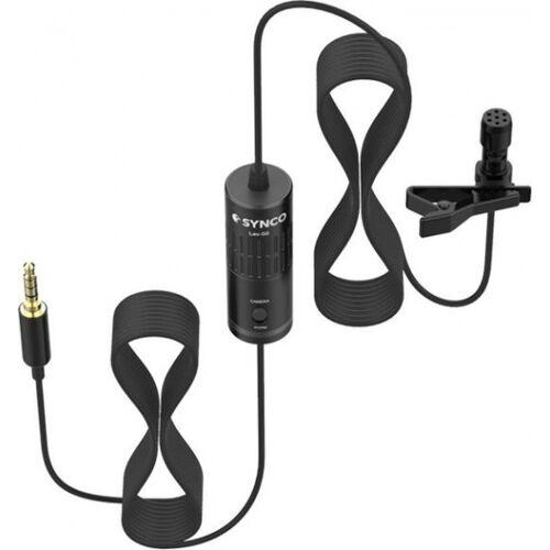 Synco microfoon Lav S6 5 cm zwart - Zwart
