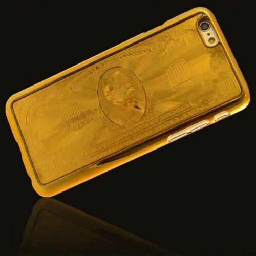 Giggle Beaver telefoonhoes Bankbiljet iPhone 6 polycarbonaat goud - Goud