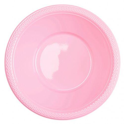 Amscan kommen roze 355 ml 20 stuks - Roze