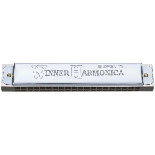Suzuki mondharmonica tremolo 40 tonen C majeur zilver - Zilver