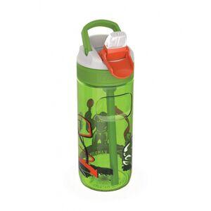 Kambukka drinkfles Lagoon Basket Robo 500 ml groen/rood - Groen,Rood