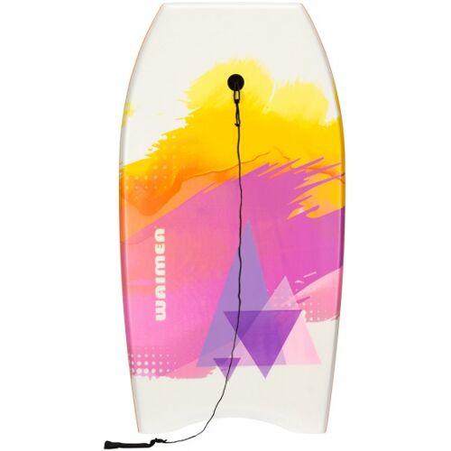 Waimea Bodyboard EPS Slick wit/oranje 93 x 48 cm - Wit,Oranje