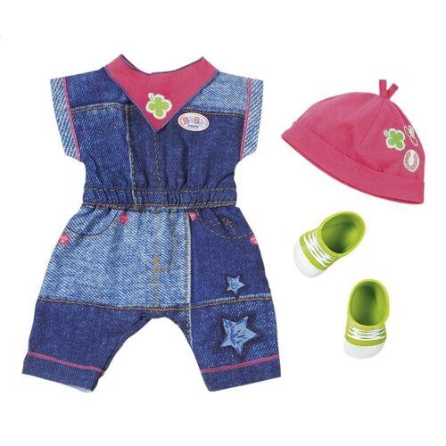 BABY born deluxe kledingset met schoenen groen - Blauw,Groen