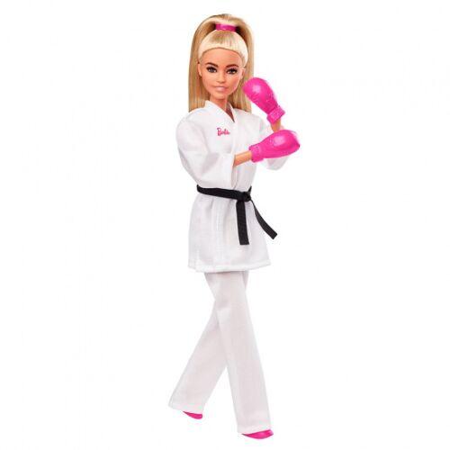Barbie pop Olympische Spelen 2020 karate 32 cm wit - Wit
