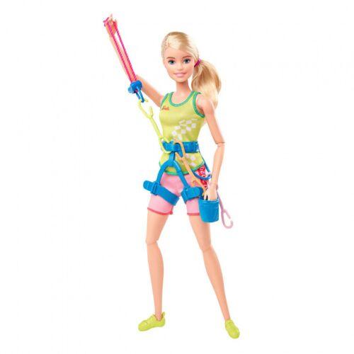 Barbie pop Olympische Spelen 2020 klimmen 32 cm - Multicolor