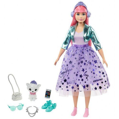 Barbie tienerfoto Princess Daisy meisjes 35 cm paars 3 delig - Paars