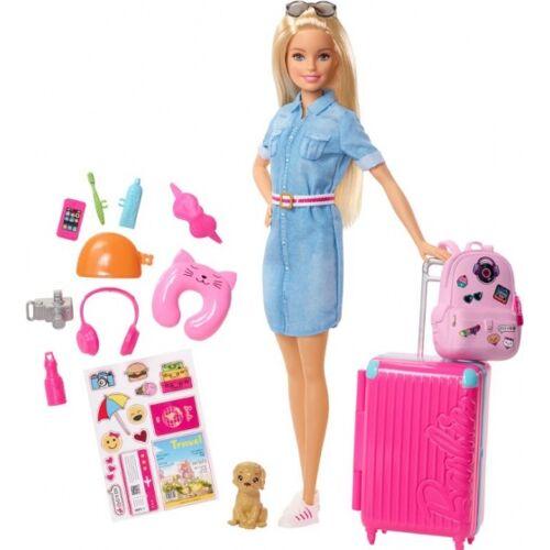 Barbie tienerpop Dreamhouse Adventures op reis 30 cm - Roze