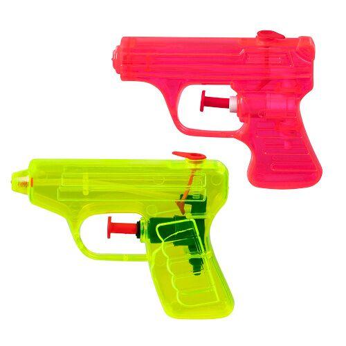 Boland waterpistolen 7,5 x 10 cm rood/geel 2 stuks - Rood,Geel