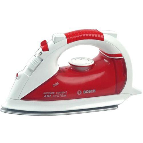 Klein Bosch strijkijzer rood/wit 20 cm - Rood,Wit