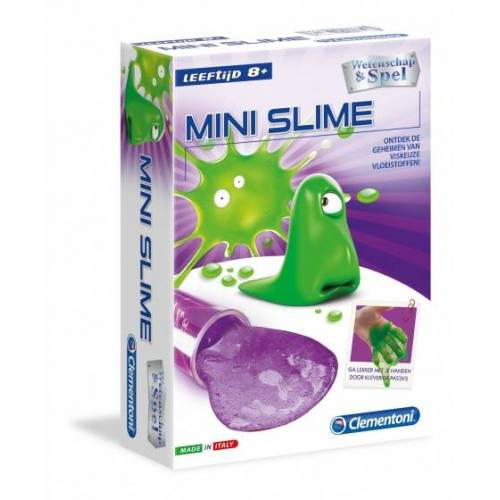 Clementoni wetenschapslab Mini Slime multicolor - Multicolor