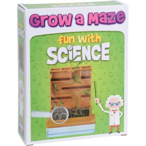 Free and Easy wetenschappelijke speelset plant doolhof - Bruin