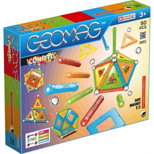 Geomag Confetti 50 delig - Multicolor