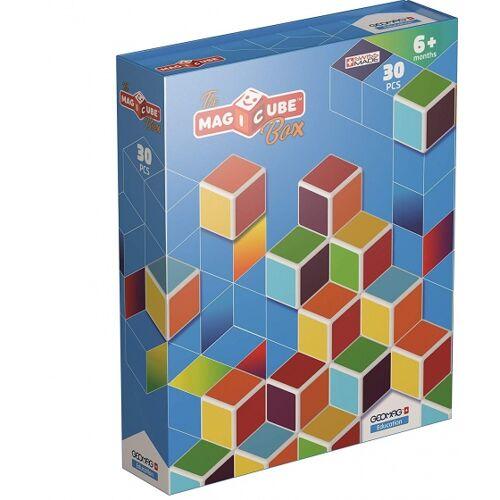 Geomag Education MagiCube Box 30 delig multicolor - Multicolor