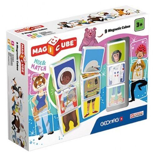 Geomag MagiCube Match & Mix beroepen 9 delig - Multicolor