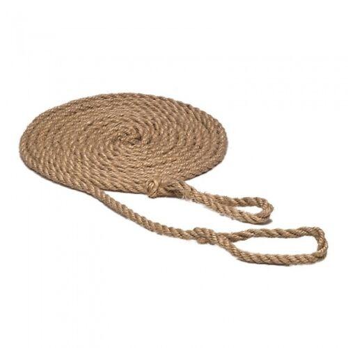 Glückskäfer schommeltouw met lussen 5 m blank touw - Blank