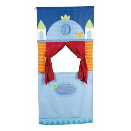 Haba ophangpoppenkast 170 cm blauw - Blauw