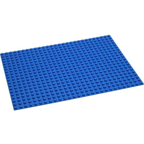 Hubelino knikkerbaan: grondplaat blauw 45 x 32 cm - Blauw