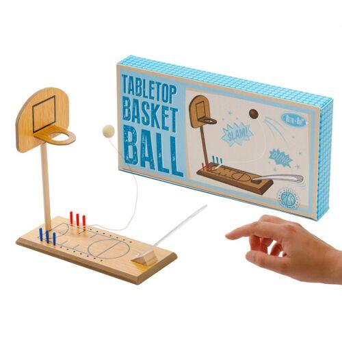 Invento desktopbasketbal retr Oh unisex hout lichtbruin - Lichtbruin