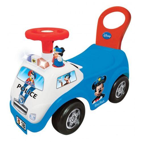 Kiddieland loopwagen Mickey Ride On Police jongens blauw - Blauw