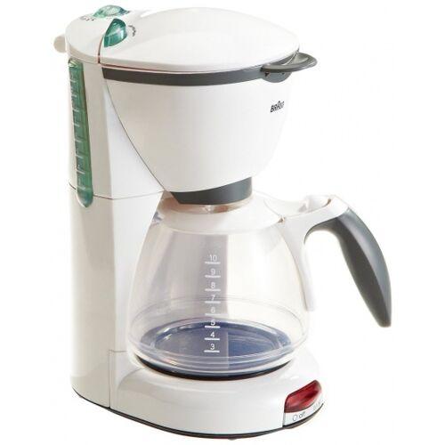 Klein Braun koffiezetapparaat - Wit