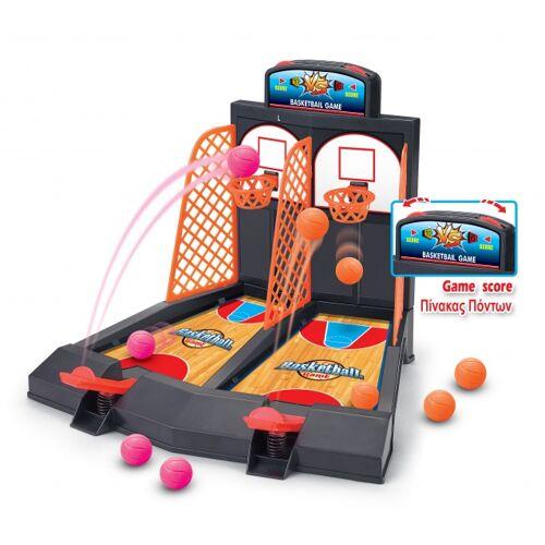 Luna basketball game 41 cm zwart/oranje - Zwart,Oranje