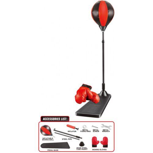 Luna boksset junior 23 x 9,8 x 53 cm rood/zwart - Rood,Zwart