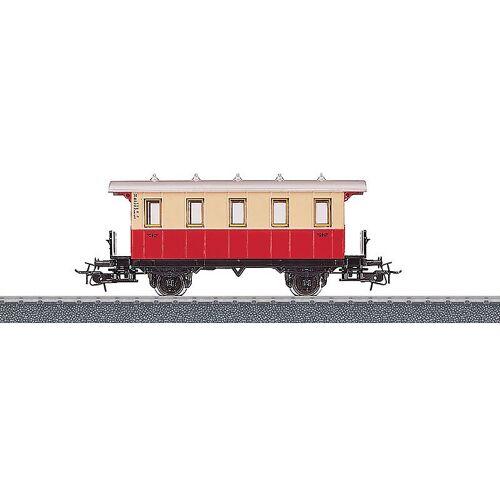 Marklin personenwagon 1:87 11 cm beige/rood - Beige,Rood