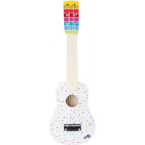 Small Foot gitaar hout wit 53 x 17 x 5,5 cm - Wit