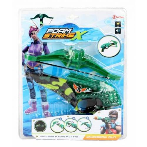 Toi-Toys Toi Toys kruisboog StrikeX met foamkogels 6 delig - Oranje