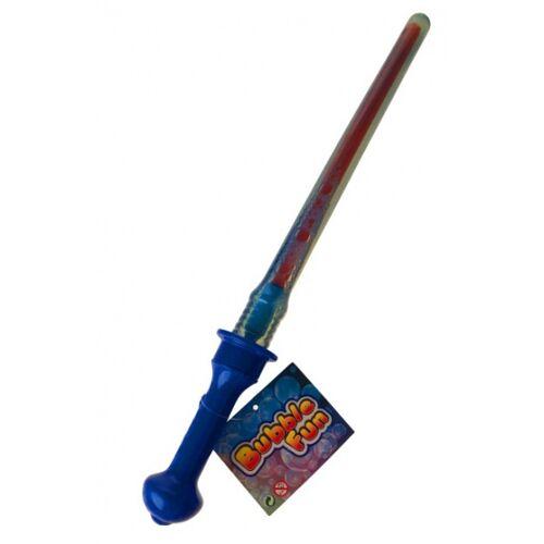 Toys Amsterdam bellenblaasstick Bubble Fun junior 45 cm blauw - Blauw