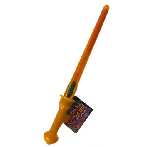 Toys Amsterdam bellenblaasstick Bubble Fun junior 45 cm oranje - Oranje