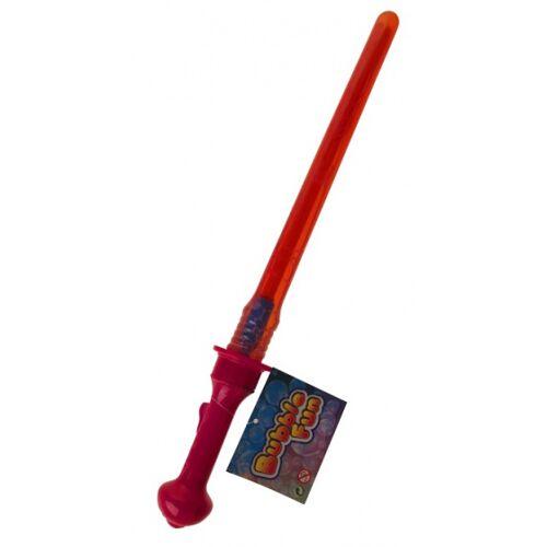 Toys Amsterdam bellenblaasstick Bubble Fun junior 45 cm rood - Rood