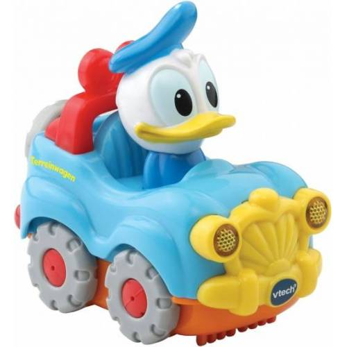 VTech Toet Toet auto: Donald Duck in auto lichtblauw - Blauw