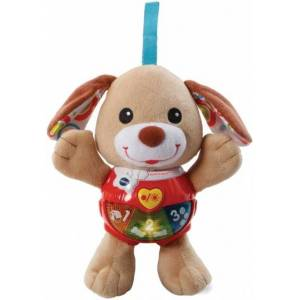 VTech knuffel en speel puppy bruin - Bruin