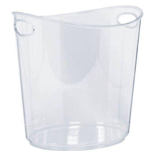 Amscan Ijsemmer 19 cm transparant - Transparant