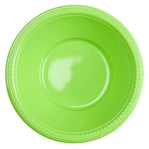 Amscan kommen lime 355 ml 10 stuks - Lime