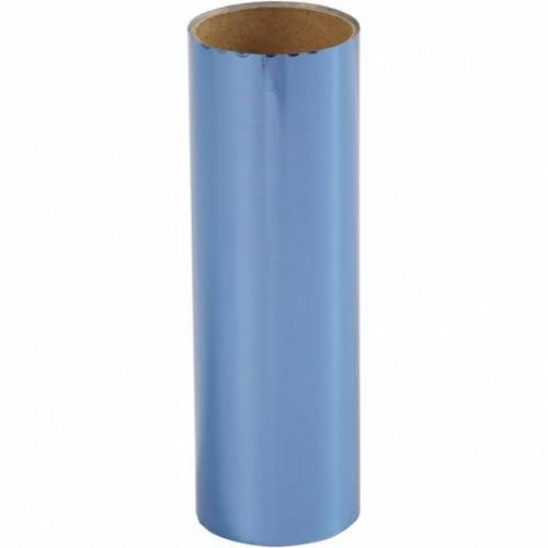 Creotime decoratiefolie donkerblauw 15,5 x 50 cm - Donkerblauw